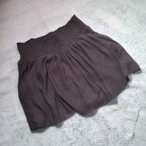 Express Silk Mini Skirt